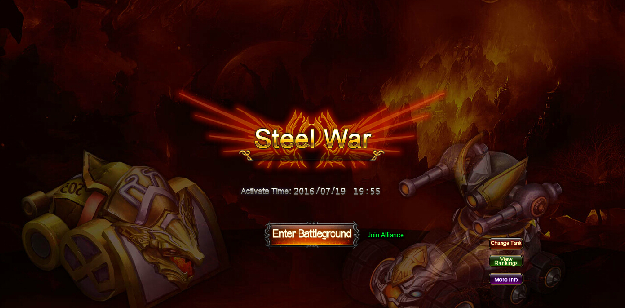 The 12th steel war is coming soon 1st round 7 19 at 19 55 server time 2nd round 7 21 at 19 55 server time