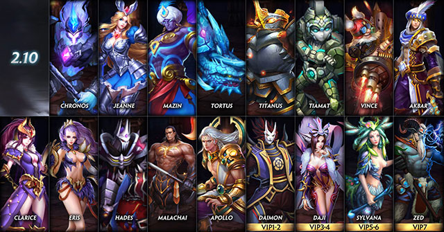 free  game bunch of heroes
