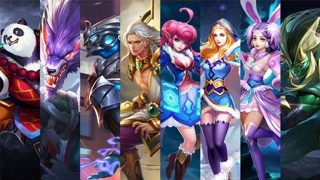 Free Hero Rotation - March 17