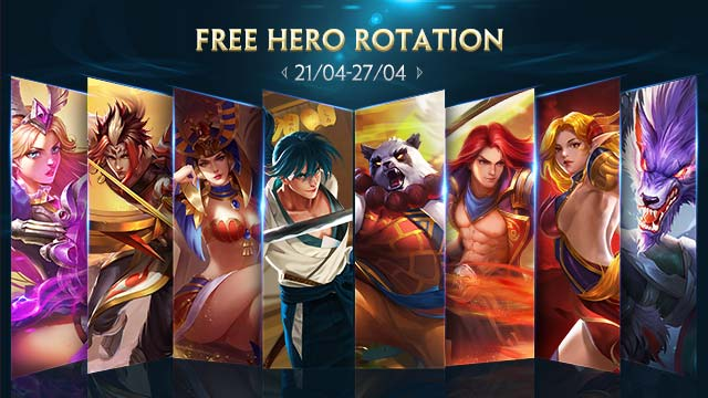 Free Hero Rotation - April 21