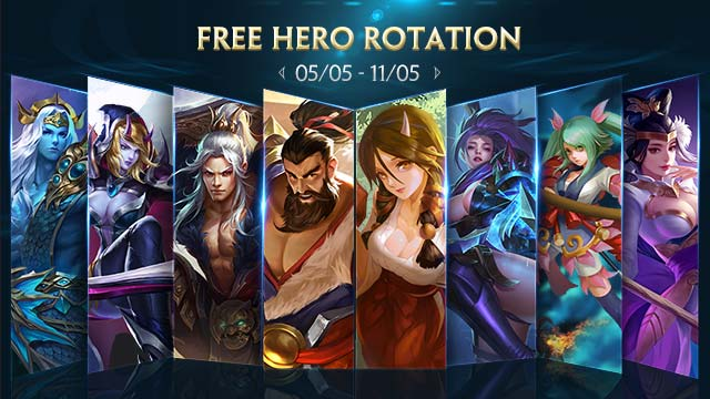 Free Hero Rotation - May 5th