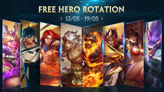 Free Hero Rotation - May 12th