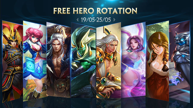 Free Hero Rotation - May 19th