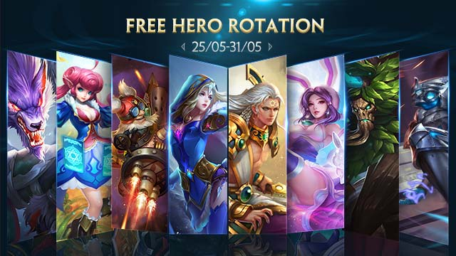Free Hero Rotation - May 25th