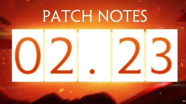 February 23rd Update