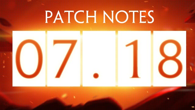 Patch Notes - July 18th