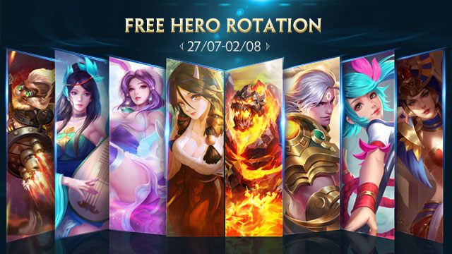 Free Hero Rotation - July 27th