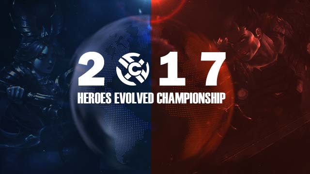 First ever Heroes Evolved Championship