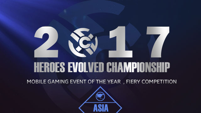 2017 HEC ASIA Top 8 announcement