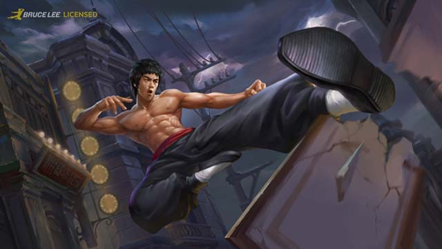 Bruce Lee Kicks His Way Into Heroes Evolved Today!