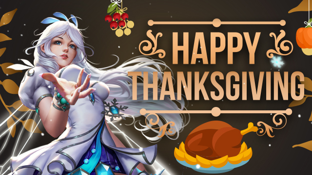 Heroes Evolved Celebrates Thanksgiving With Events!