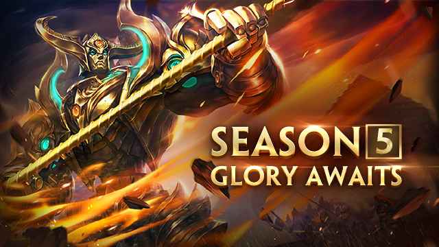 SEASON 5 IS OPEN NOW!