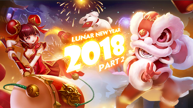 LUNAR NEW YEAR SPECIALS II