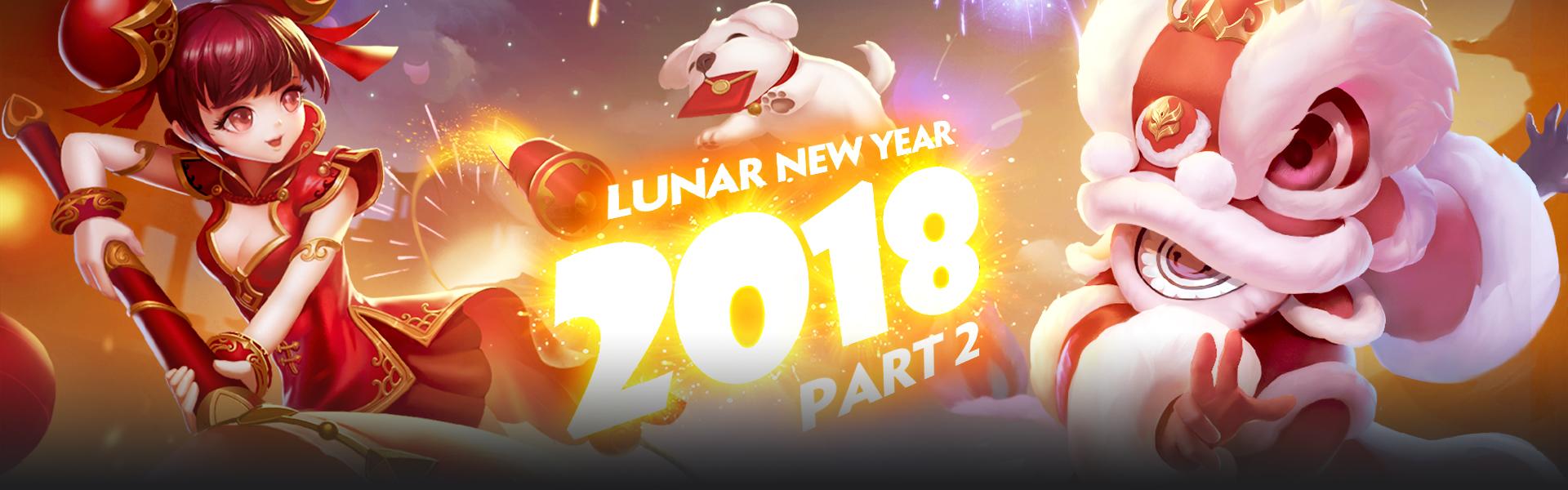 LUNAR NEW YEAR SPECIALS II