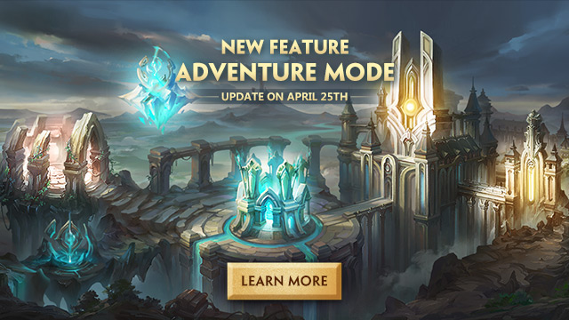 All-new Adventure Mode - a Fresh Take on the MOBA Genre