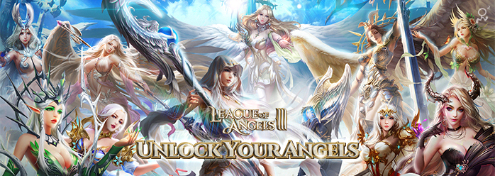 League of Angels 3 - Unlock Your Angels