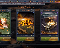 Legend of Warships - Pirate Treasures