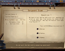 Legend of Warships - Sergent Exam