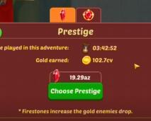 FireStone Idle RPG (R2Games) - Prestige