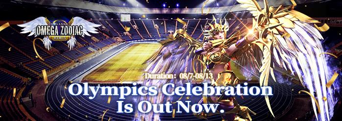 Omega Zodiac - Olympic